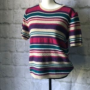 Vintage Alfred Dunner made in USA knit top Medium